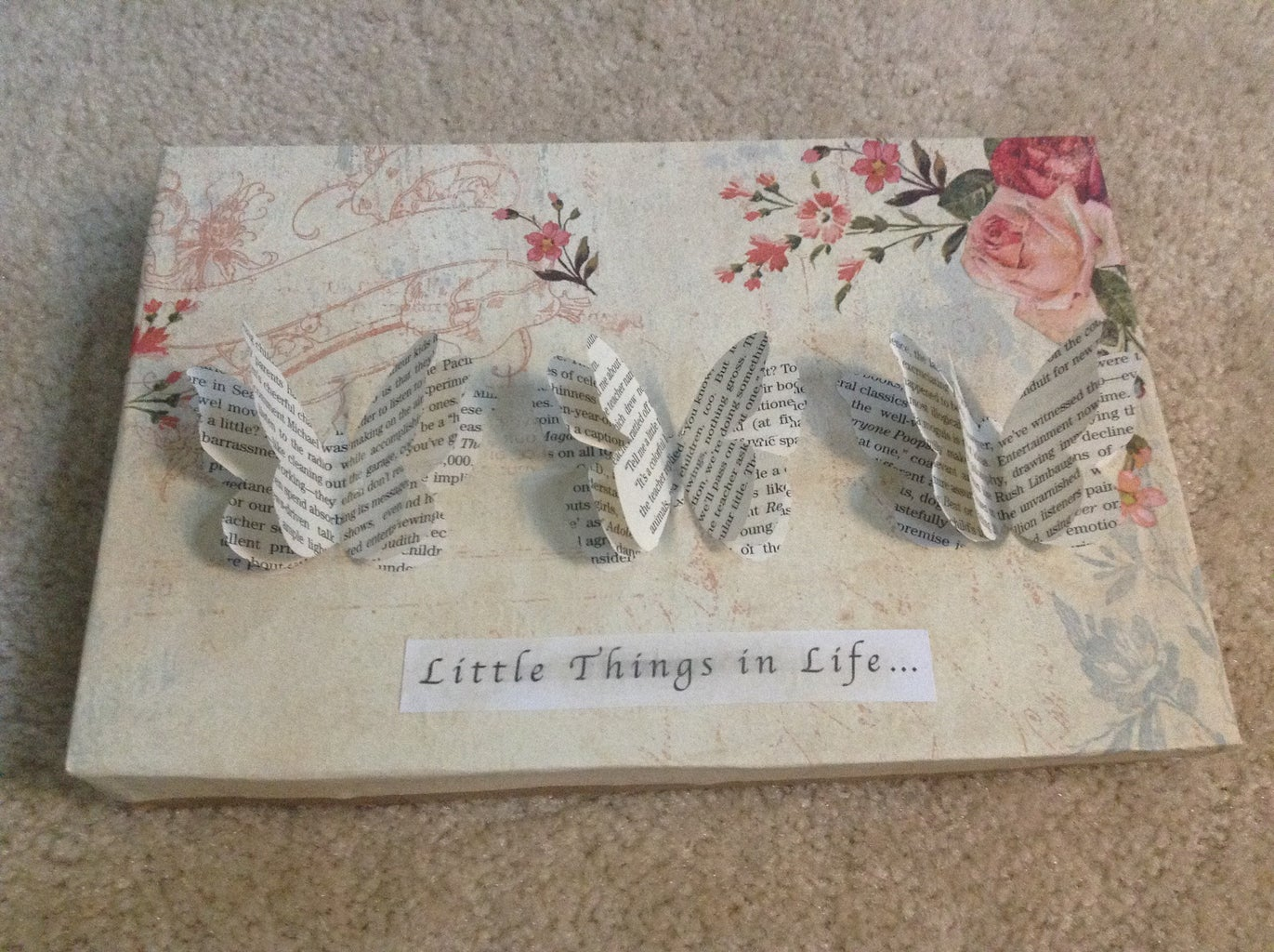 Tea Stained Labels