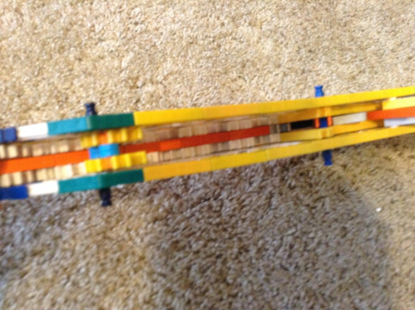 The Prototype Removable Horizontal Mag Knex Gun