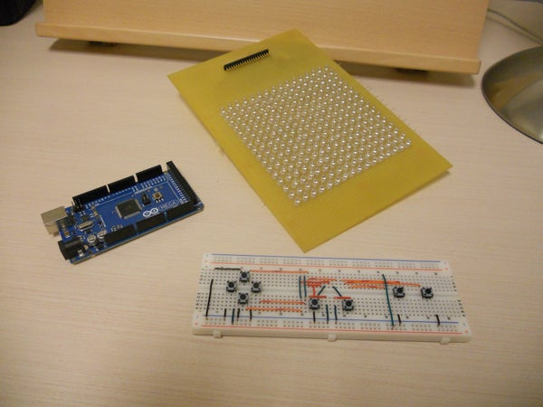 LED Matrix With Game Controller - a First Project