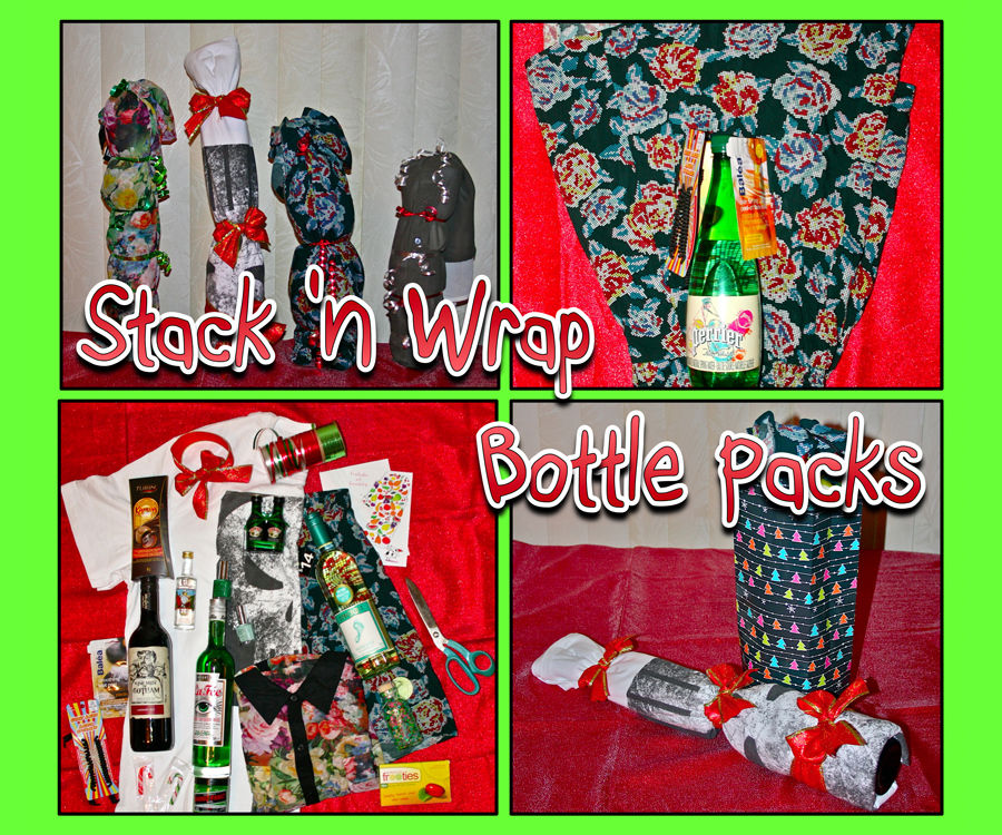 Stack and Wrap Bottle Packs