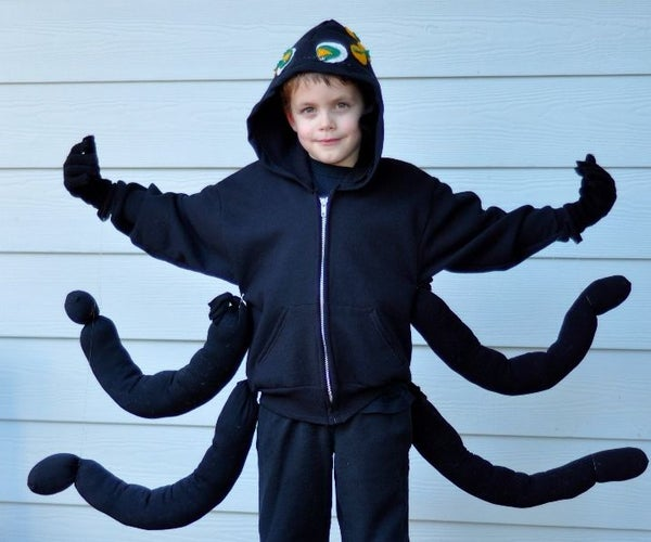 Lilypad Arduino Spider Costume