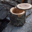 Firewood to Natural Edge Bowl