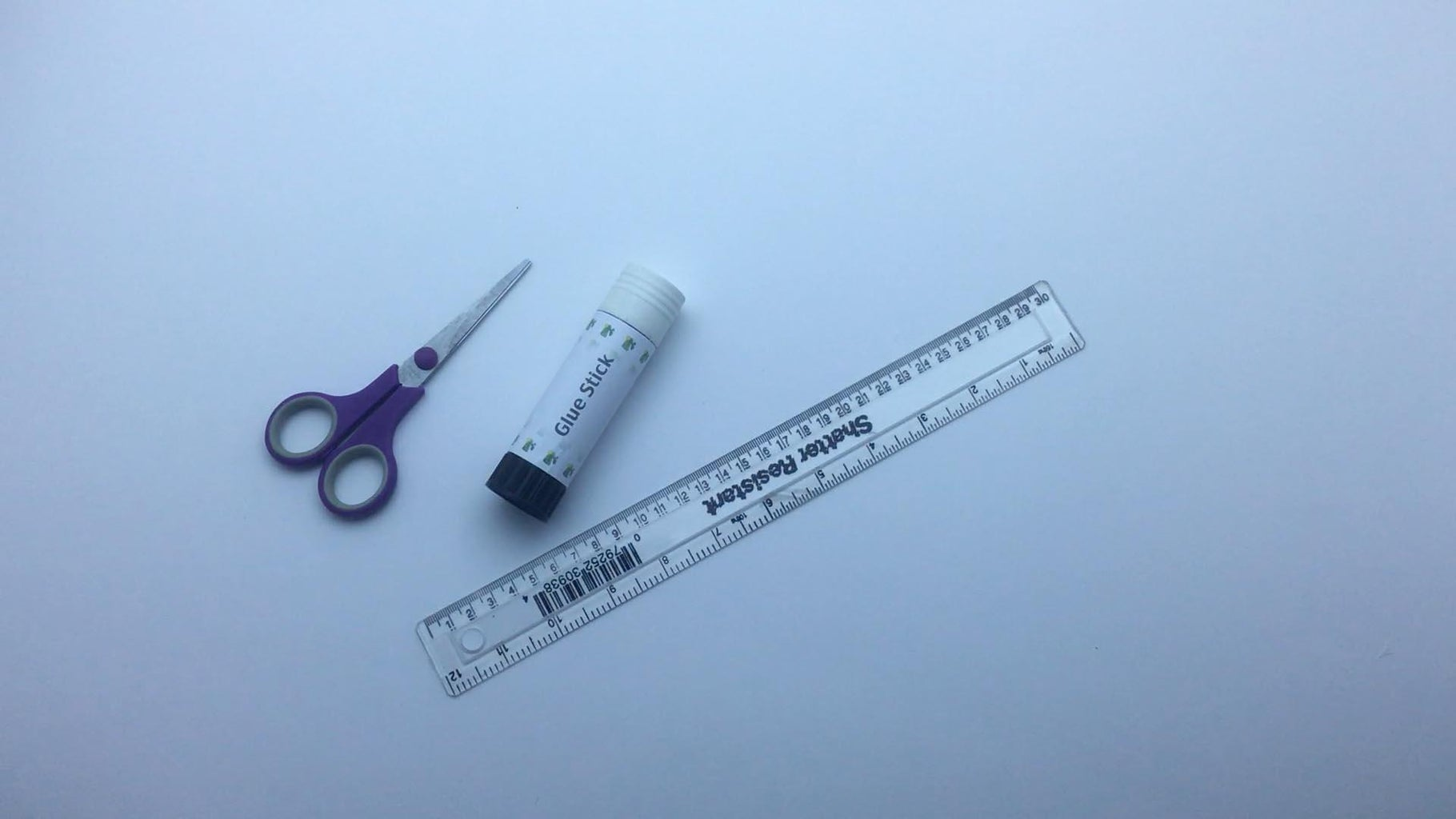 Tools Needed for the Next Parts - Cut, Fold and Paste