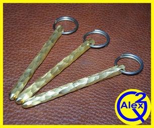 How to Make Decorative Brass Keychains/Key Fob