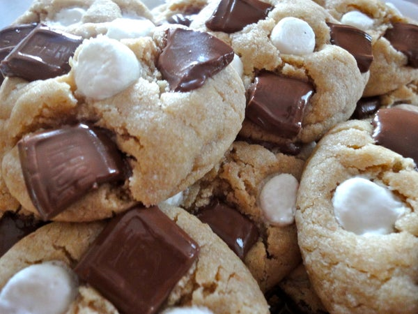 Delicious S'more Cookies