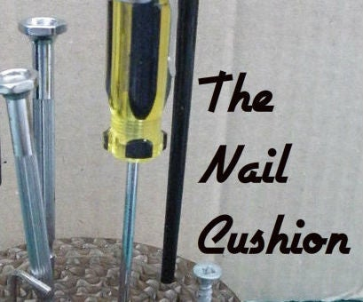 Nail Cushion - a Father's Day Gift