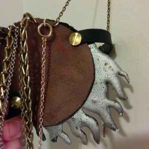 Belt Buckle: Chains and Backing