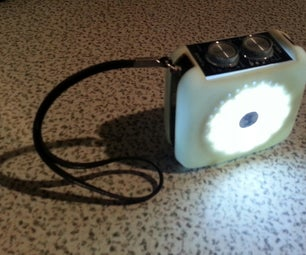 Transistor Radio LED Torch