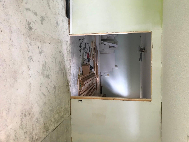 Build and Frame Doorway