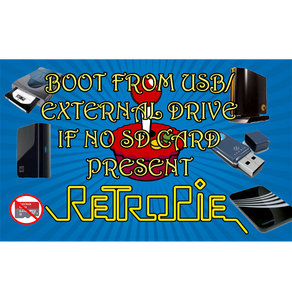 Raspberry Pi 4 Retropie Boot From External If No SD Card Present