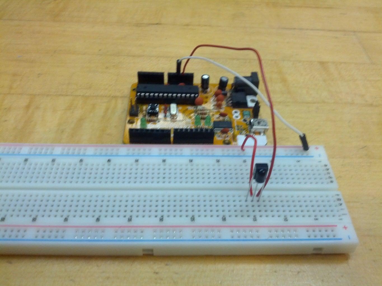 Wiring the IR Receiver
