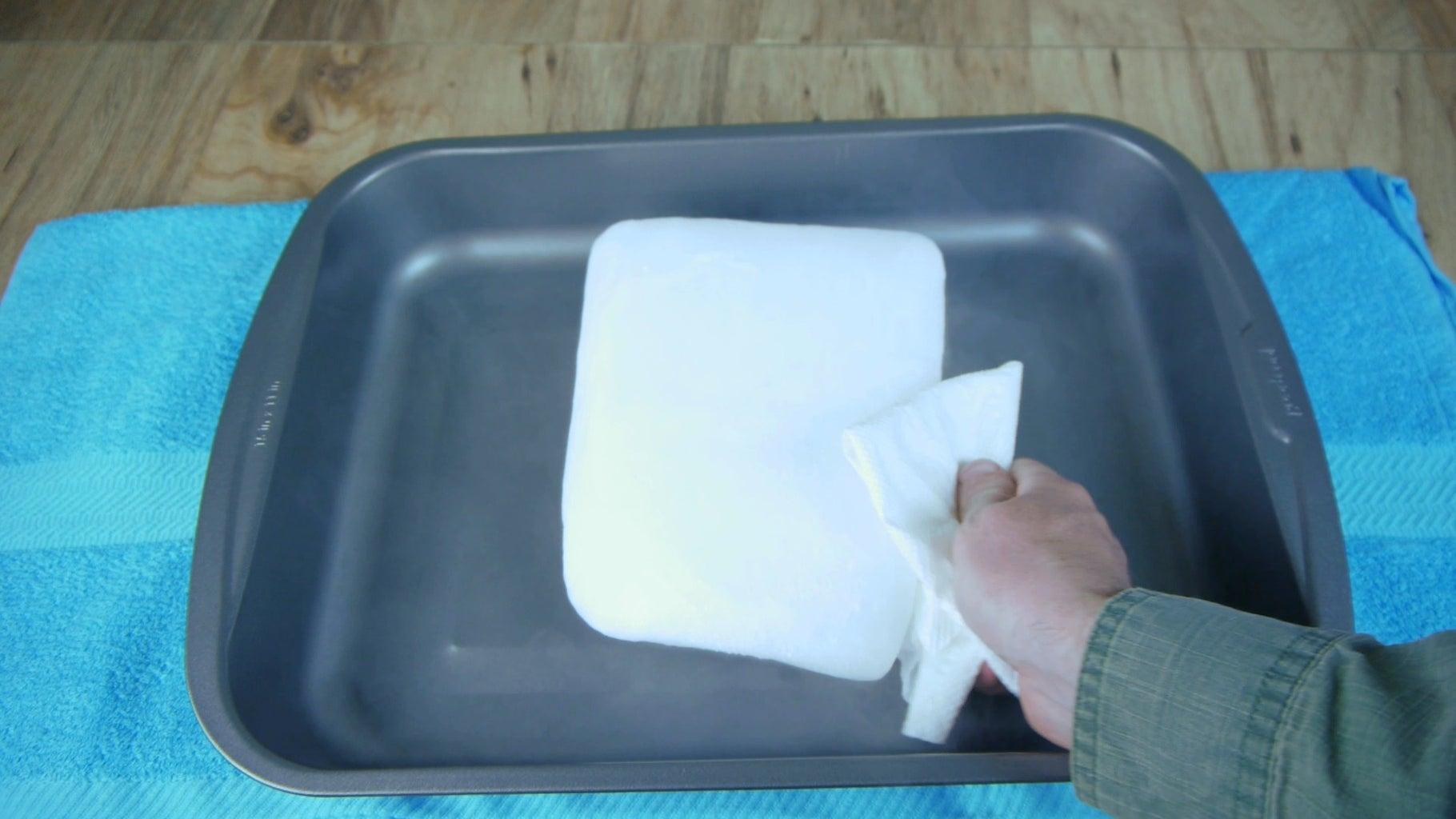 Preparing the Cold Plate