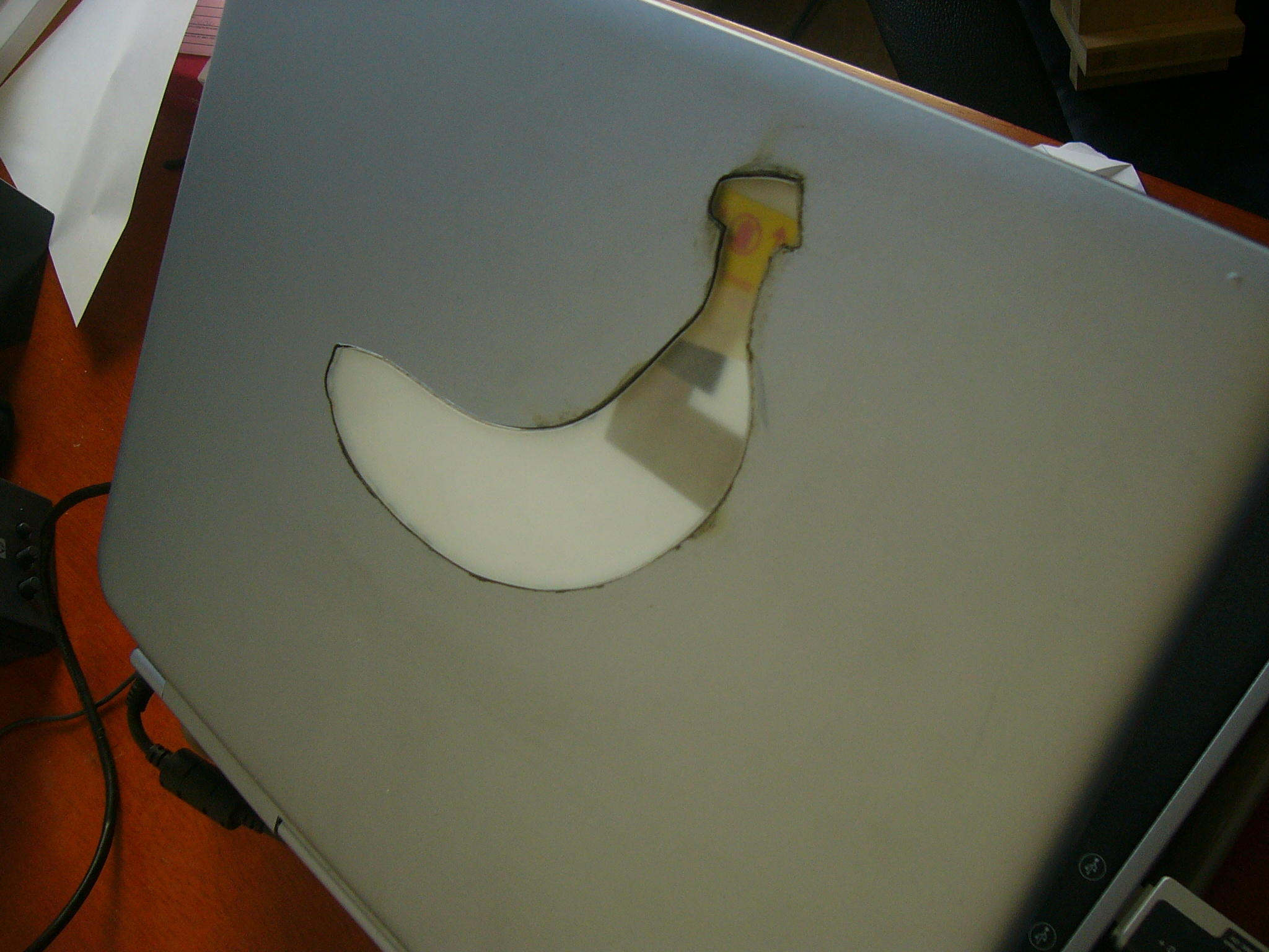 Banana PC - Custom Laptop Logo