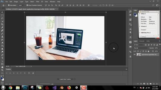 Open Original Image Containing a Monitor or Screen