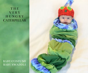 非常饥饿的毛虫婴儿服装