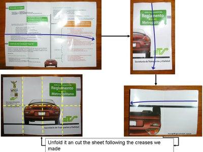 Preparing Our Sheet