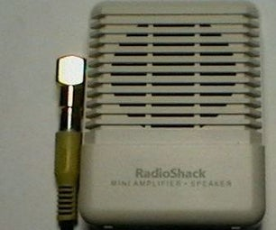 Modify the RadioShack Amplifier to Power a Condenser Microphone Element