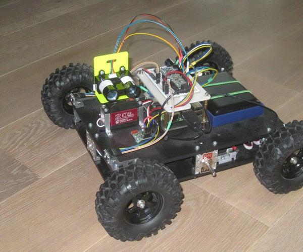 Autonomous Rover - Part 3 - Localization
