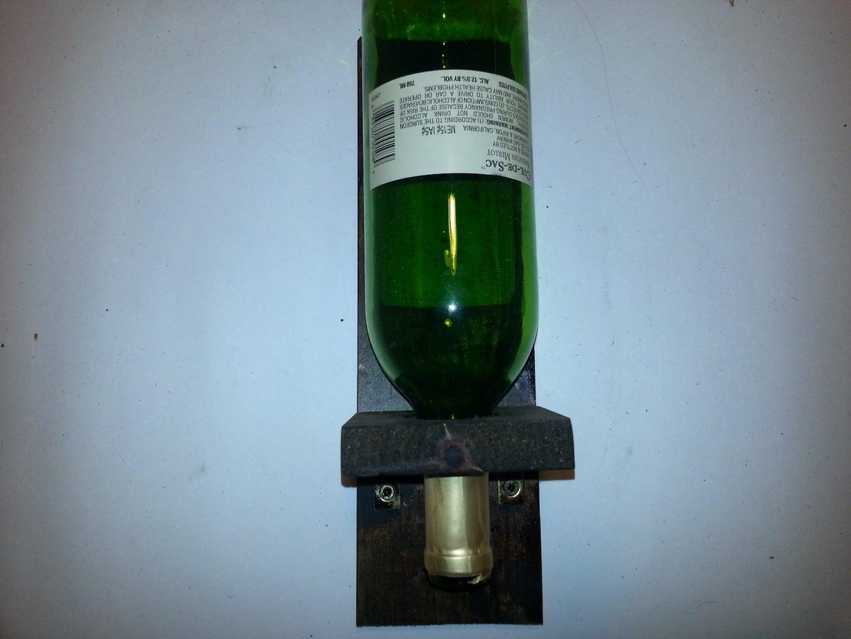 Upside Down Bottle Holder