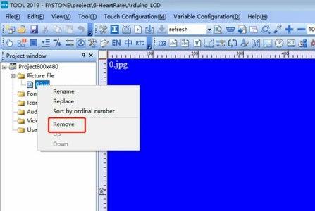 TFT LCD User Interface Design