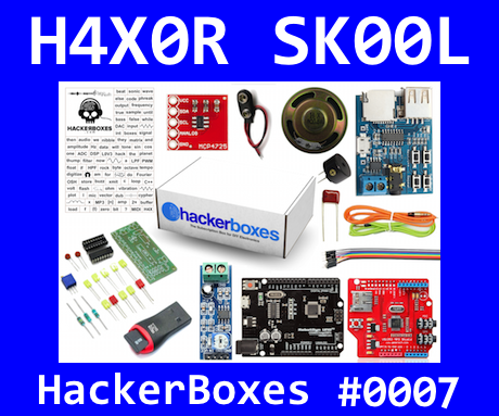 HackerBoxes 0007: Digital Soundscapes