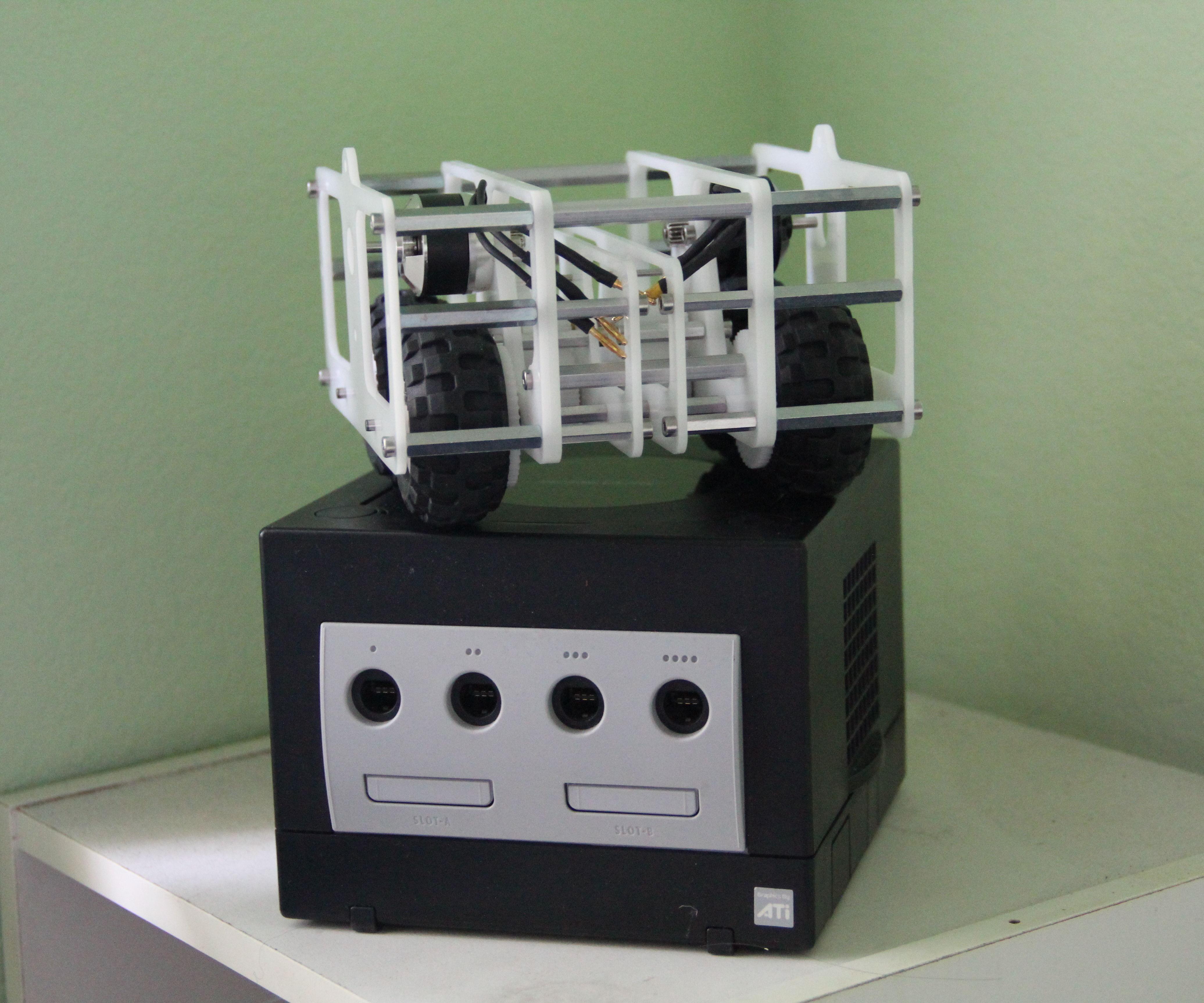 RC Nintendo GameCube Robot