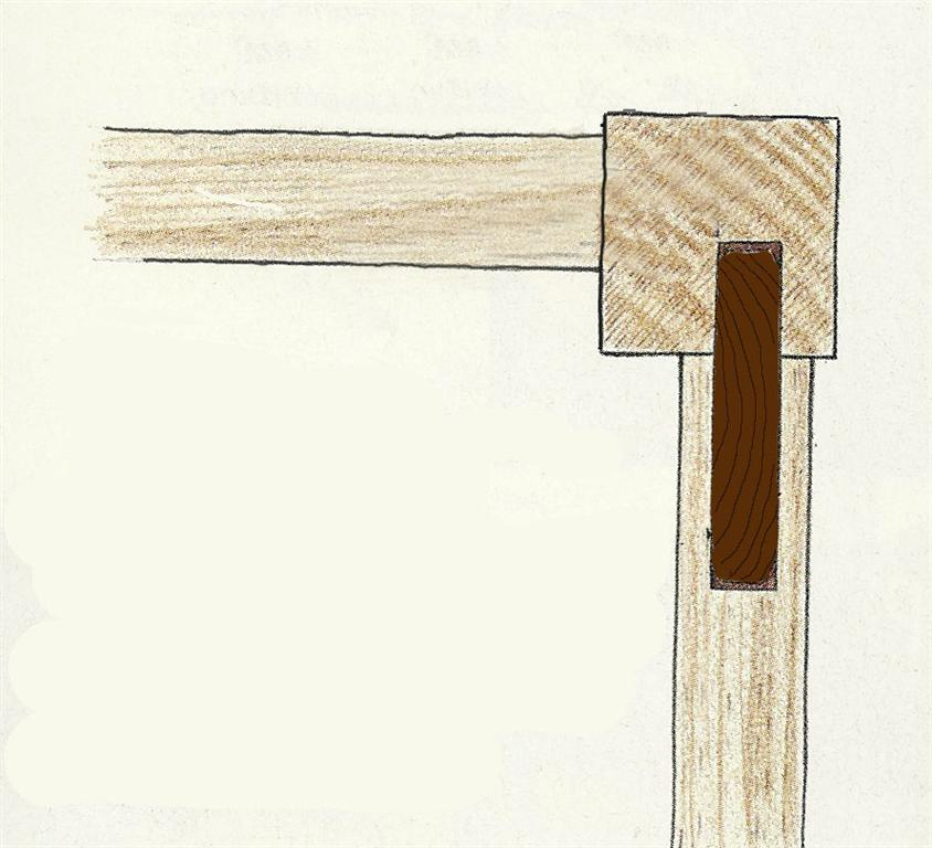 Retrofit Mortise and Tenon Joints