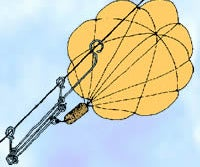 Make a Kite Messenger for Covert GI JOE Paradrops