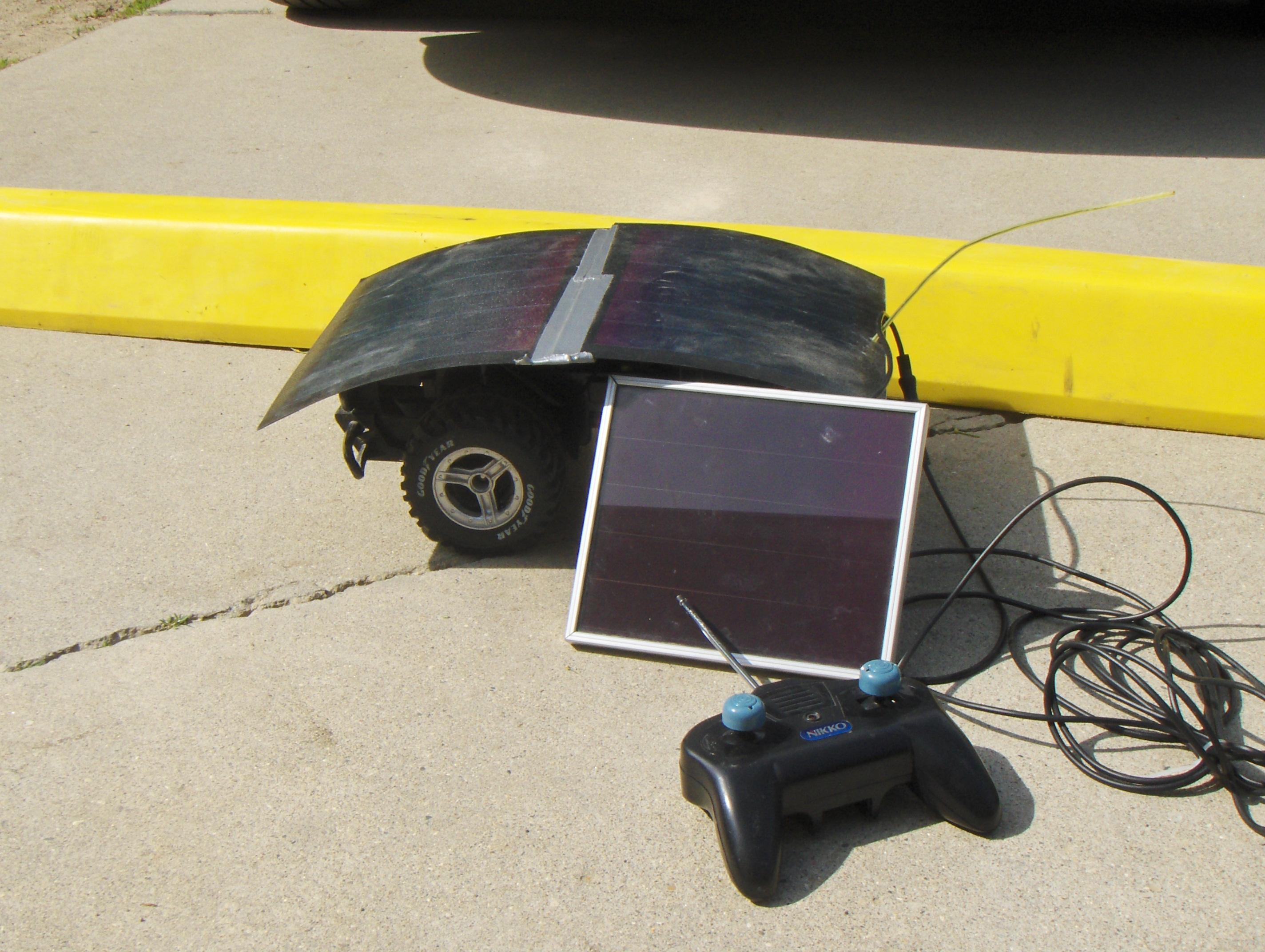 Solar RC car