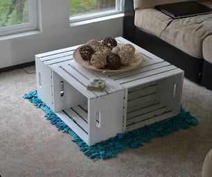 Apple Crate Coffee Table