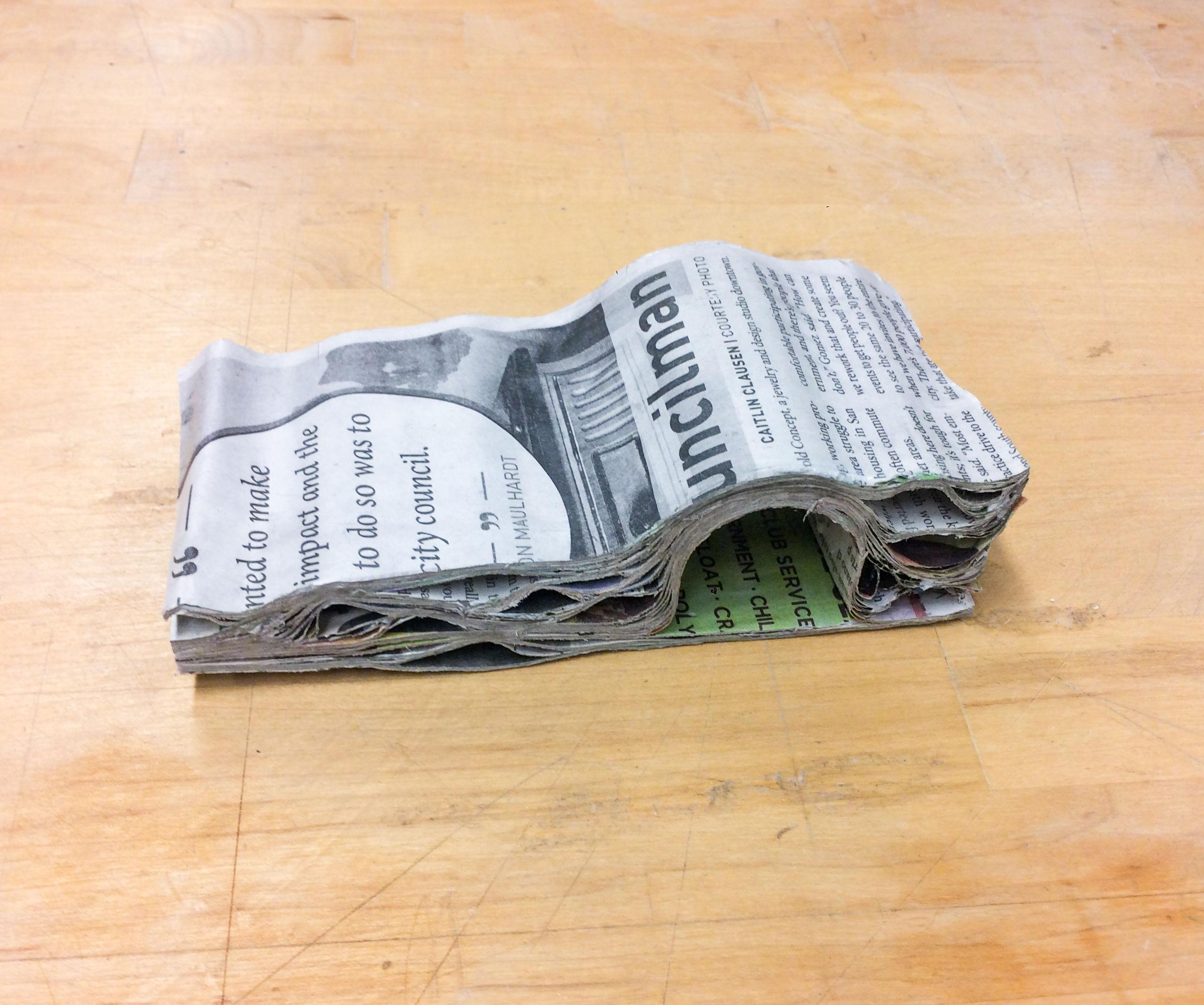 Newspaper Block