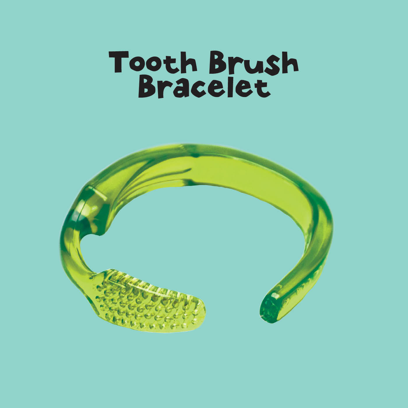 How to make a toothbrush bracelet