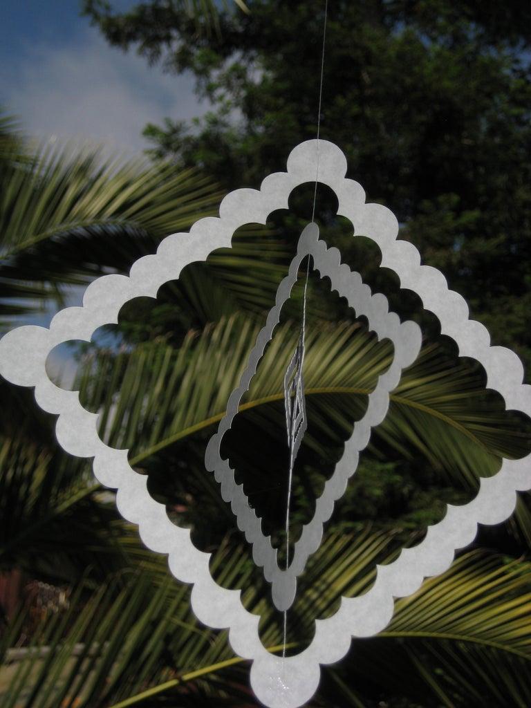 Hanging Paper Decoration