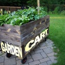 Garden Cart From Reclaimed Wood