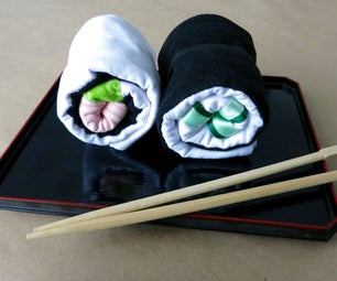 Sushi Roll Tote Bags