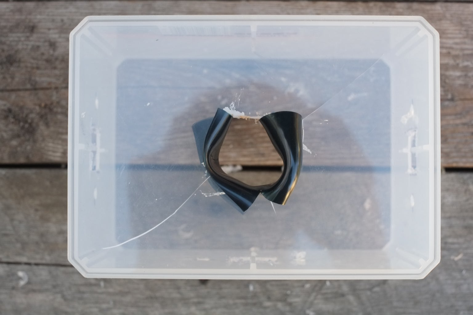 Preparing the Junction Box: Making a Hole for the Inlet