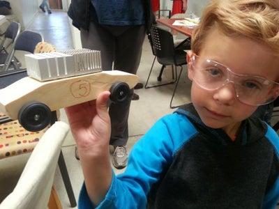 SLO Maker Academy Pinewood Derby Curriculum