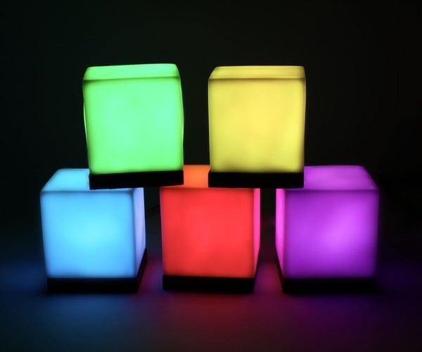Reactive Pixel Lamps