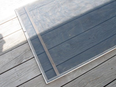 Cut and Attach Absorber Screen
