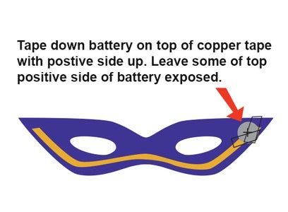 Tape Down the Battery