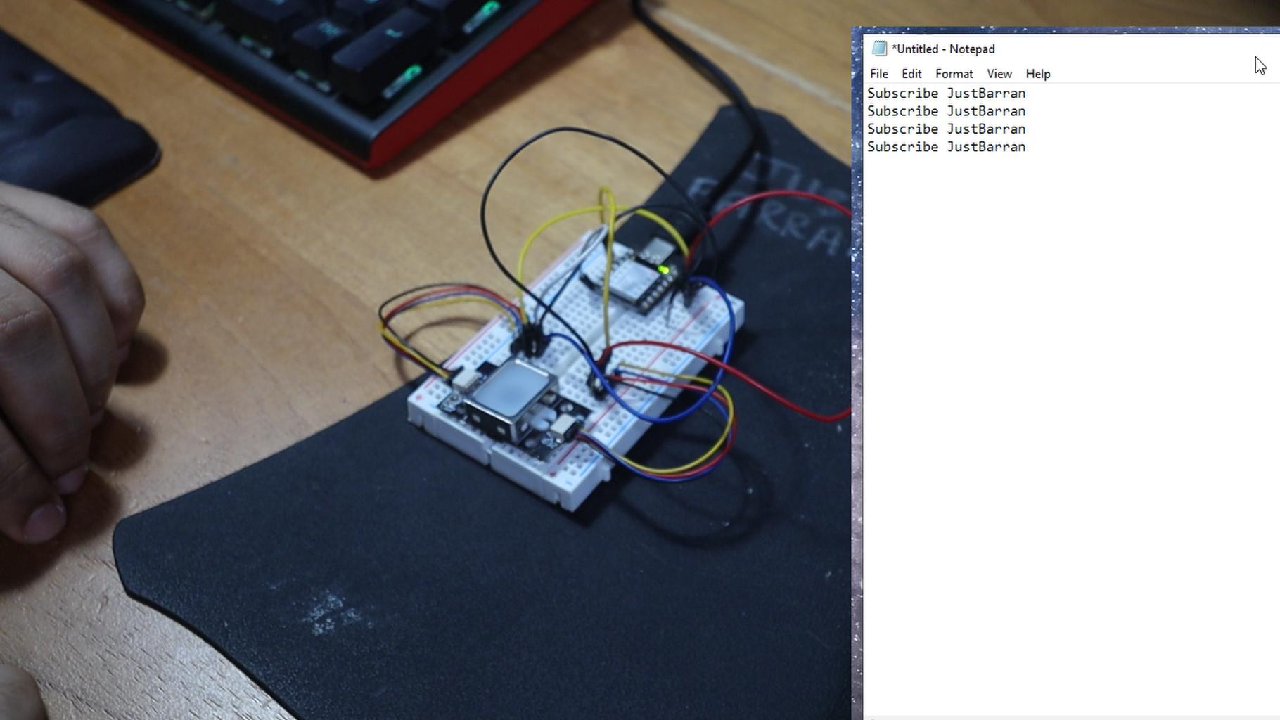 Circuit Diagram and Fingerprint Sensor