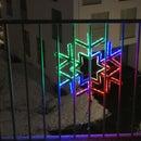LED Strip Snowflake / Star Animations