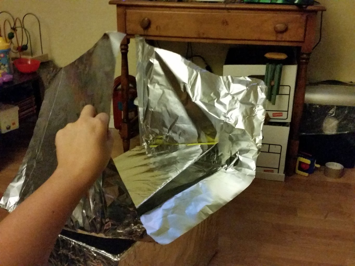 The Last Section of Foil