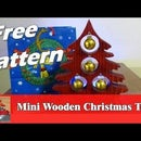 Mini Wooden Christmas Tree