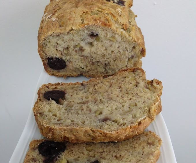 Vegan Banana Cherry Bread
