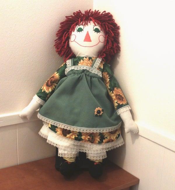 How to Make a Raggedy Ann Doll