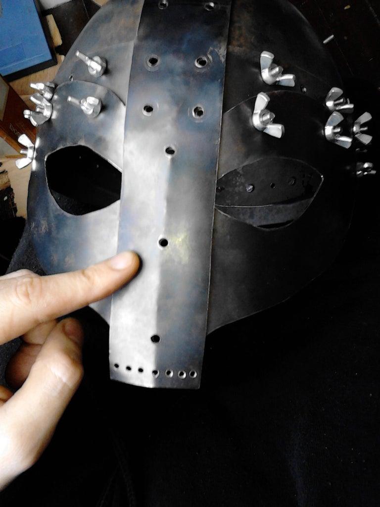 Making the Faceguard Part 2