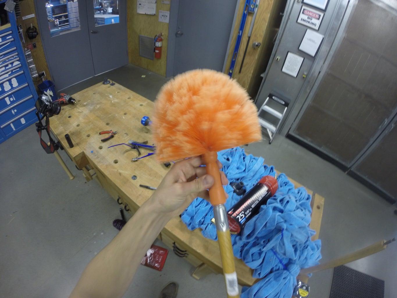 Prepare HyperBrush Shaft