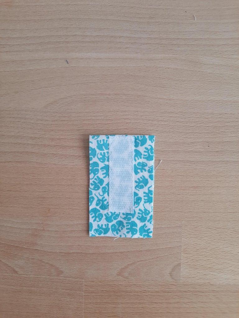 Fold the Piece of Fabric of 5cm X 16cm