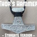 Thor's Hammer Pendant (Stargate Version)